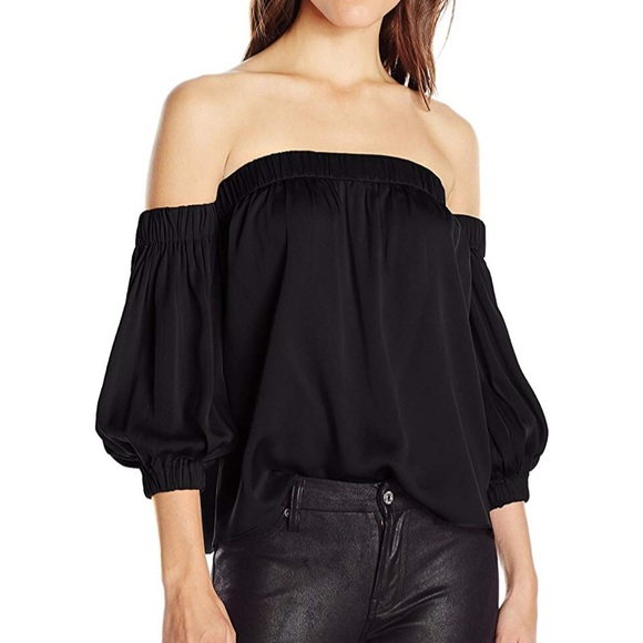 5715e45ed15 Milly Tops   Off The Shoulder Silk Blouse Nwt   Poshmark